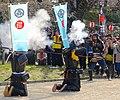 Demonstration of Japanese matchlocks in Nagoya Castle - 2.jpg