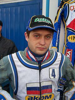 Denis Saifutdinov Russian speedway rider