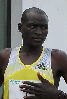 Dennis Kipruto Kimetto, detentore del record mondiale della maratona.