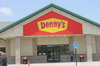 Denny's - This newer Denny's off Interstate 35 north of Laredo, Texas, handles a considerable trucker clientele.