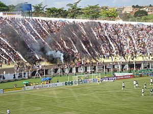 Estádio Prudentão - Image: Derby Paulista (Corinthians Palmeiras) Paulistão 2009