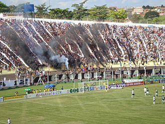Esporte Clube Corinthians - State championship match between Corinthians and Palmeiras in the Prudentão 2009