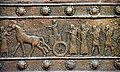 Detail of a bronze strip, Balawat gate of Shalmaneser III.jpg