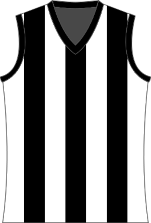 Geelong & District Football League - Image: Devonport Magpies Jumper