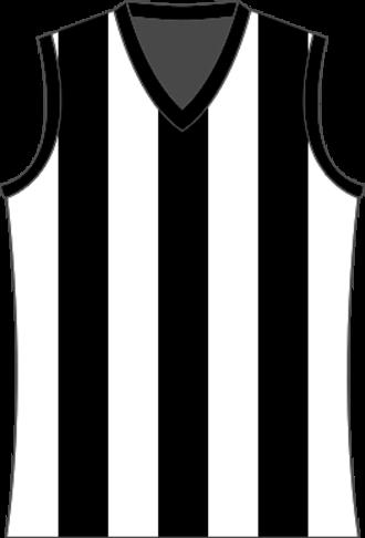 Geelong & District Football League - Image: Devonport Magpies Jumper