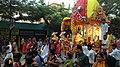 Devotees pulling the rath at Barisha.jpg