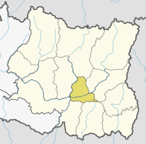 Location of Dhankuta
