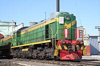 DieselLoco TEM2-5135 in Tomsk