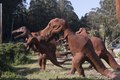 Dinosaur sculptures in Half Moon Bay, a coastal city in San Mateo County, California LCCN2013634778.tif