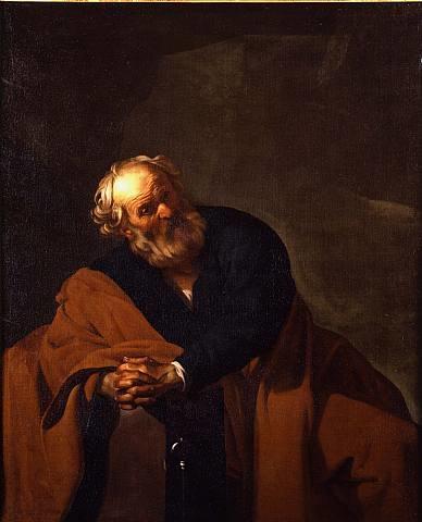 Dirck van Baburen Saint Peter