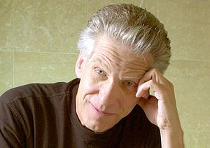 Director DAVID CRONENBERG of the film 'Spider'...