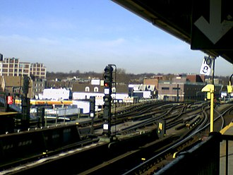 Ditmas Avenue (IND Culver Line) - Remains of the Culver Shuttle