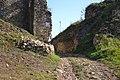 Divín - Divínsky hrad - prístupová cesta.jpg