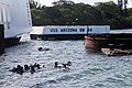 Dive ops at USS Arizona Memorial, RIMPAC 2014 140717-G-DE731-052.jpg