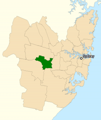 Division of Fowler - Division of Fowler in New South Wales, as of the 2016 federal election.