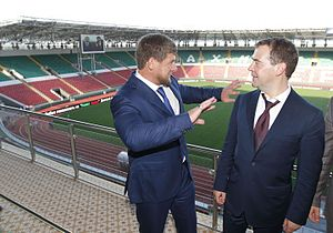 Dmitry Medvedev and Ramzan Kadyrov 19 June 2012 02.jpeg