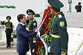 Dmitry Medvedev in Turkmenistan 4-5 July 2008-7.jpg