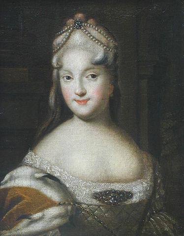 Екатерина Долгорукова, вторая невеста Петра.Неизвестный художник, 1729г., Псков