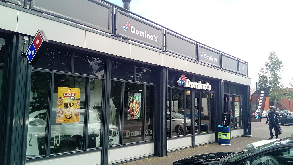 Domino's Pizza restaurant, Hoogezand (2019) 01