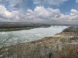 Taganrog Bay - The  Don River in December