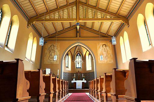 Dorfkirche Brodowin innen 02