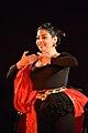 Dorothy Bhattacharya Dancing With Rabindra Sangeet - Sriniketan - Birbhum - 2017-10-21 5162.JPG