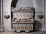 Double Tomb of Don Àlvar Rodrigo de Cabrera, Count of Urgell and His Wife Cecília of Foix MET cdi48-140-1-3-4