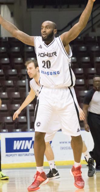 Doug Thomas - Thomas with the Power in 2015