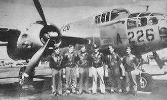 Bisbee Douglas International Airport - B-25 Aircrew training at Douglas AAF, 1944