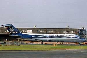 ALM Flight 980 - An ONA Douglas DC-9-33CF which is leased from ALM similar to the one involved in the accident