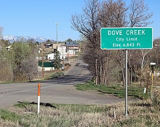 Dove Creek, Colorado Statutory Town in Colorado, United States