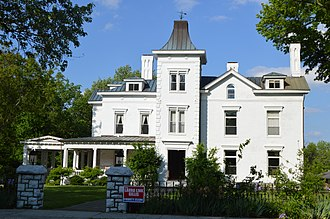 National Register of Historic Places listings in Anderson County, Kentucky - Image: Dowling House in Lawrenceburg