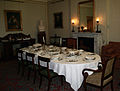 Down House, Downe, Kent, England -dining room-24April2011.jpg