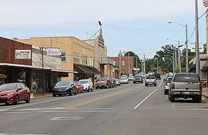 Many, Louisiana - Image: Downtown Many, LA IMG 6582