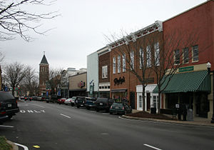Downtown Murfreesboro, Tennessee Image copylef...