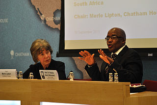 Aaron Motsoaledi South African politician