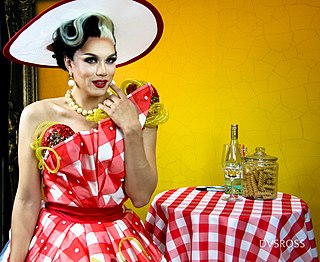 Manila Luzon Drag queen