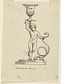 Drawing, Design for a Candlestick, mid- 19th century (CH 18549073).jpg