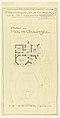 Drawing, Hemsy Villa, St. Cloud, Plan du Rez de Chaussee, 1913 (CH 18384901).jpg
