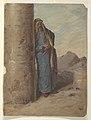 Drawing, Standing bedouin, 1868 (CH 18201383-2).jpg