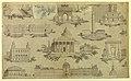 Drawing, Textile Design- Les Monuments de Paris (The Monuments of Paris), 1810–15 (CH 18102811-2).jpg