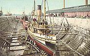 Dry Dock, Portsmouth Navy Yard, Kittery, ME