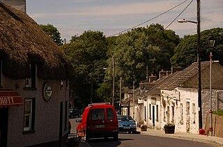 Duncormick Village in Leinster, Ireland