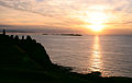 Dunluce Castle sunset 2 (149849950).jpg