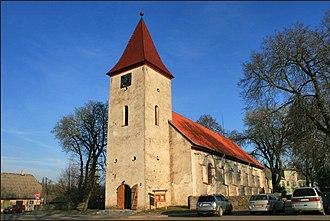Durbe - Durbe Lutheran church