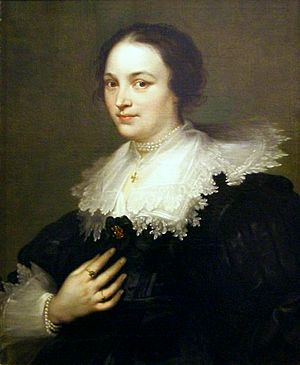 National Museum, Gdańsk - Image: Dyck Portrait of a woman