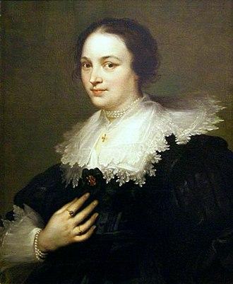 National Museum, Gdańsk - Image: Dyck Portrait of a woman