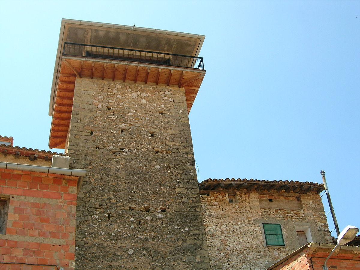 Torre De La C Rcel Fuentespalda Wikipedia La
