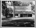 EAST (REAR) ELEVATION - Schuyler House, Saratoga Springs, Saratoga County, NY HABS NY,46-SAR,3-13.tif