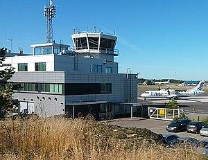 Turku Airport - Image: EFTU T1 flybenordic